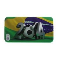 Brasil WK 2014 hard case voor iPhone 4 en 4s